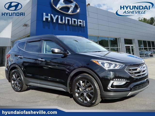 new 2018 hyundai santa fe sport 2 0t ultimate awd 2 0t ultimate 4dr suv in asheville 28212. Black Bedroom Furniture Sets. Home Design Ideas